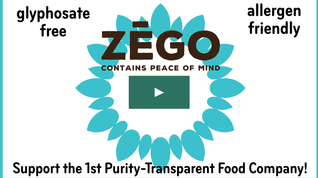 ZEGO: Pioneering New Food Purity Transparency & New Products project video thumbnail