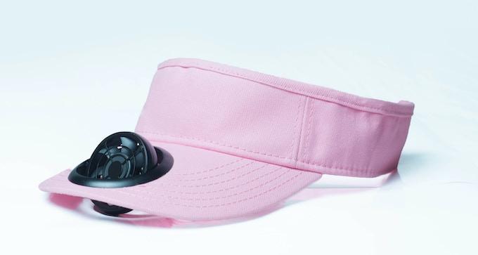 Koolcap Pink Visor