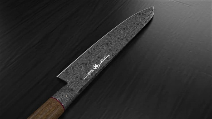 3d Arminius damascus Series view