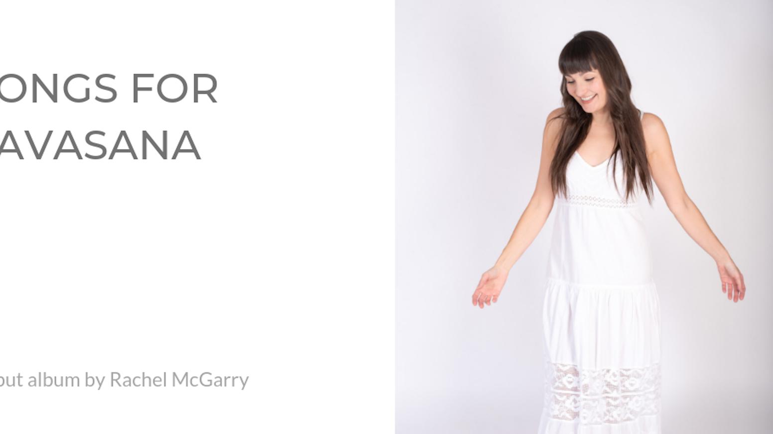 Rachel McGarry's first album of devotional chant music!