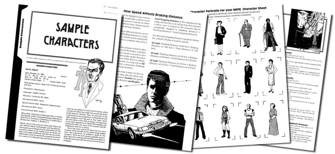 Plus sample characters/portraits, and additional material added to the Combined Edition!