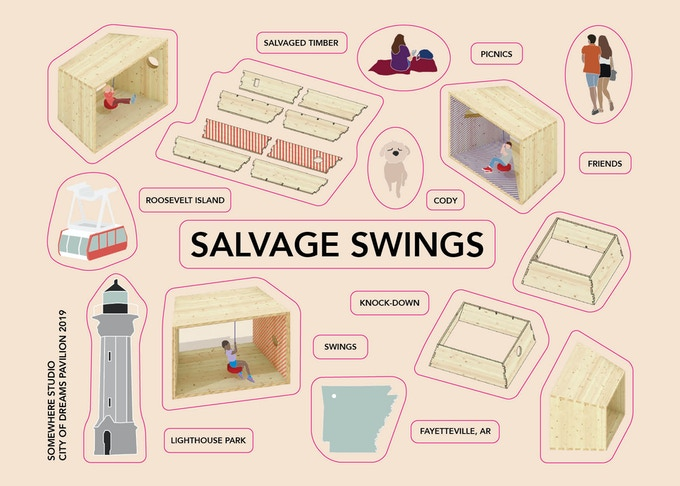 Salvage Swings Sticker Sheet