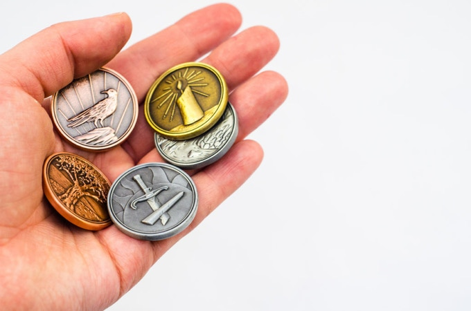 Tokens designed by Doug Keith and manufactured by Campaign Coins!