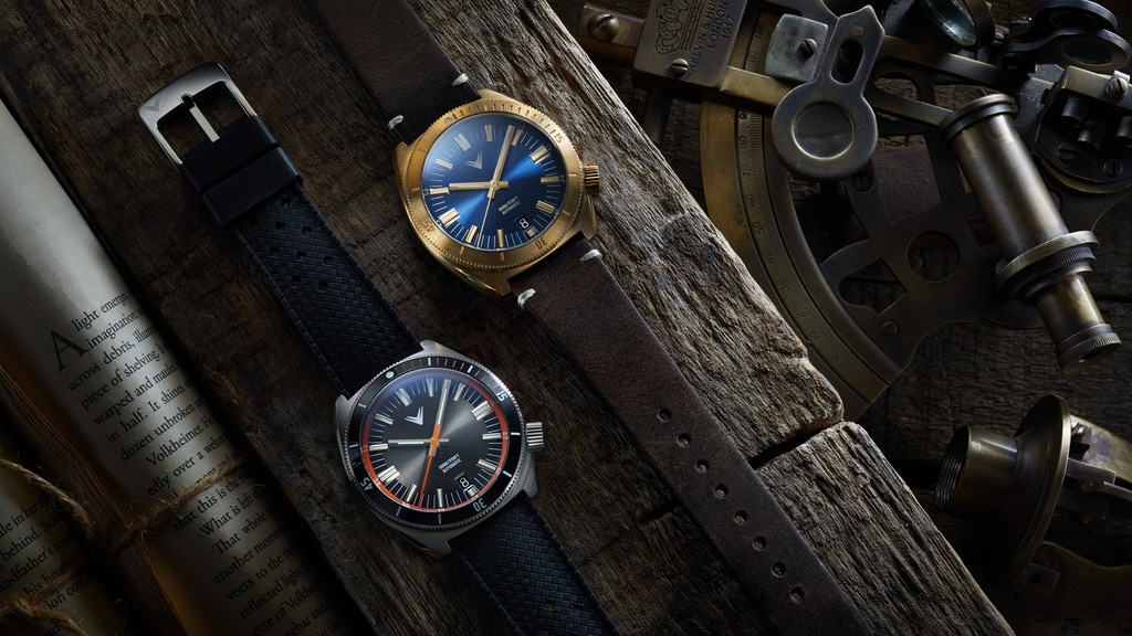 Ventus: Northstar 300m Heritage Diver Automatic project video thumbnail