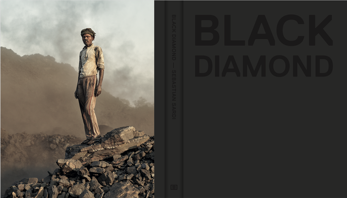 A hardcover photobook capturing the coalmines and hardworking people in the burning villages and mines in Jharkhand, India.