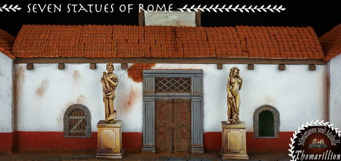 Seven Statues of Rome - by Thomarillion