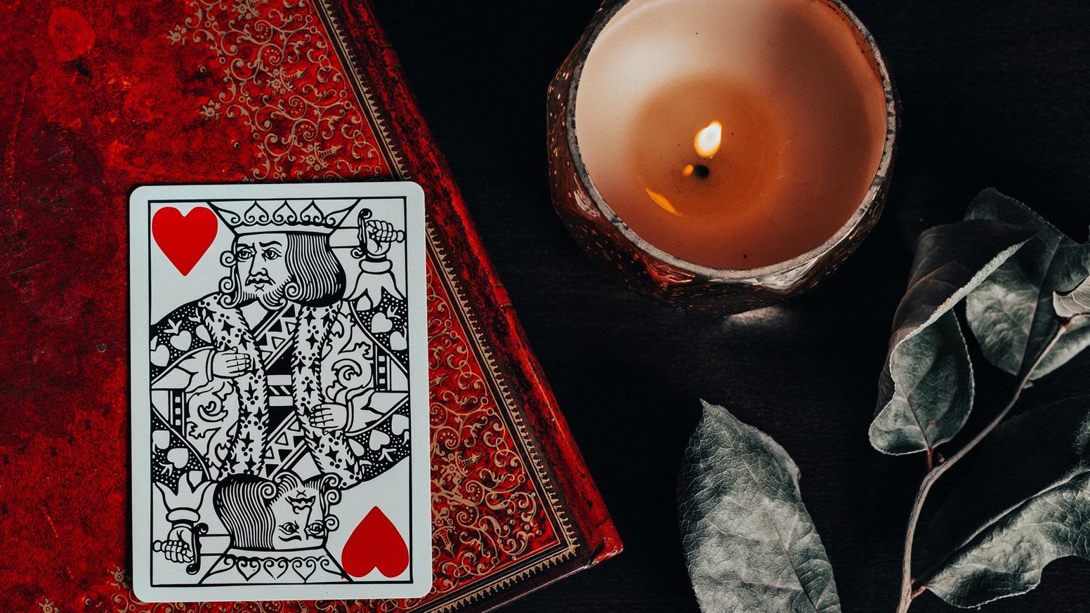 An artistic professional pack of playing cards designed and hand illustrated for games, magic and cardistry.