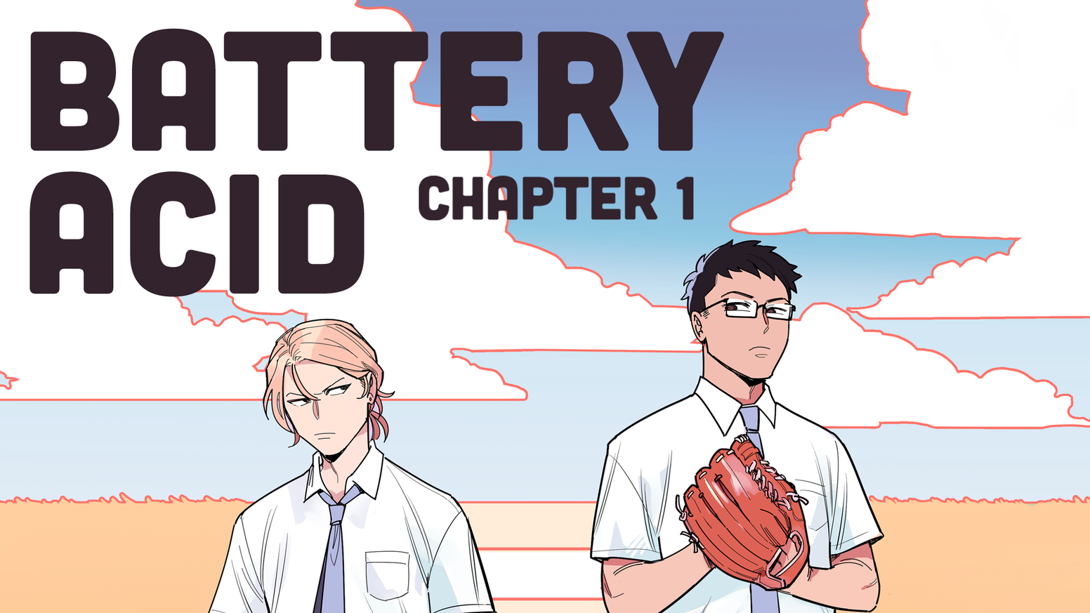 Two high schoolers, Ono and Hasegawa, learn to reconcile and explore their feelings through baseball.