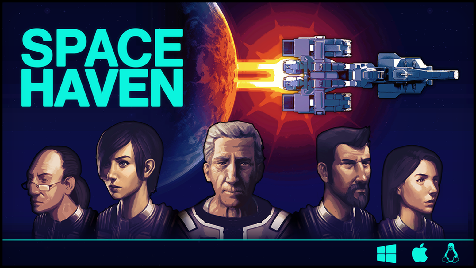 A spaceship colony sim placing you in charge of a ragtag civilian crew in search of a new Earth, designed by and for fans of RimWorld.