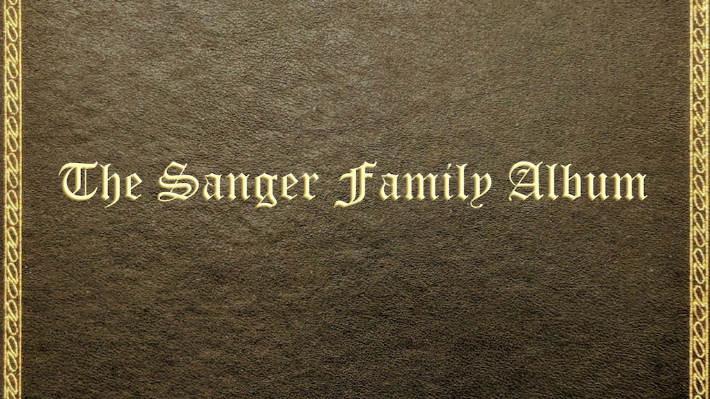 The Sanger Family Album project video thumbnail