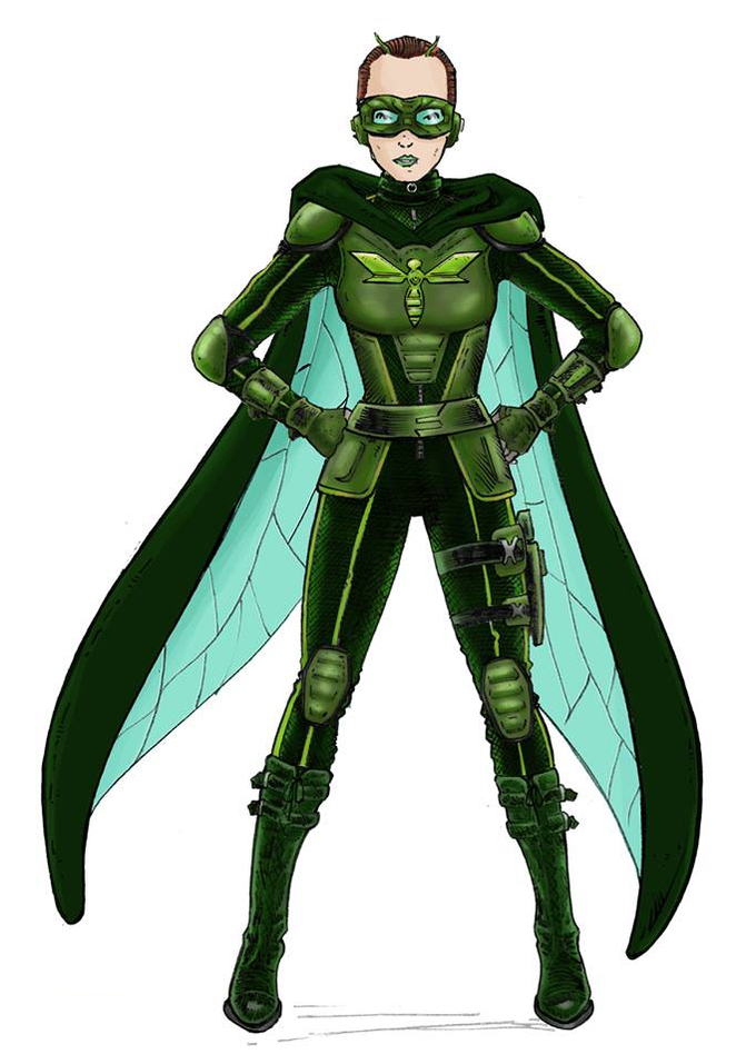 The Emerald Wasp Costume
