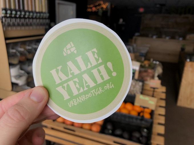 Kale Yeah! sticker