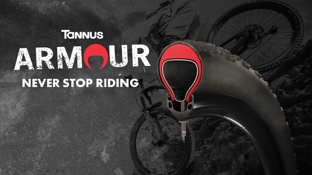 Tannus Armour-Increased Bike Tire Protection and Performance project video thumbnail