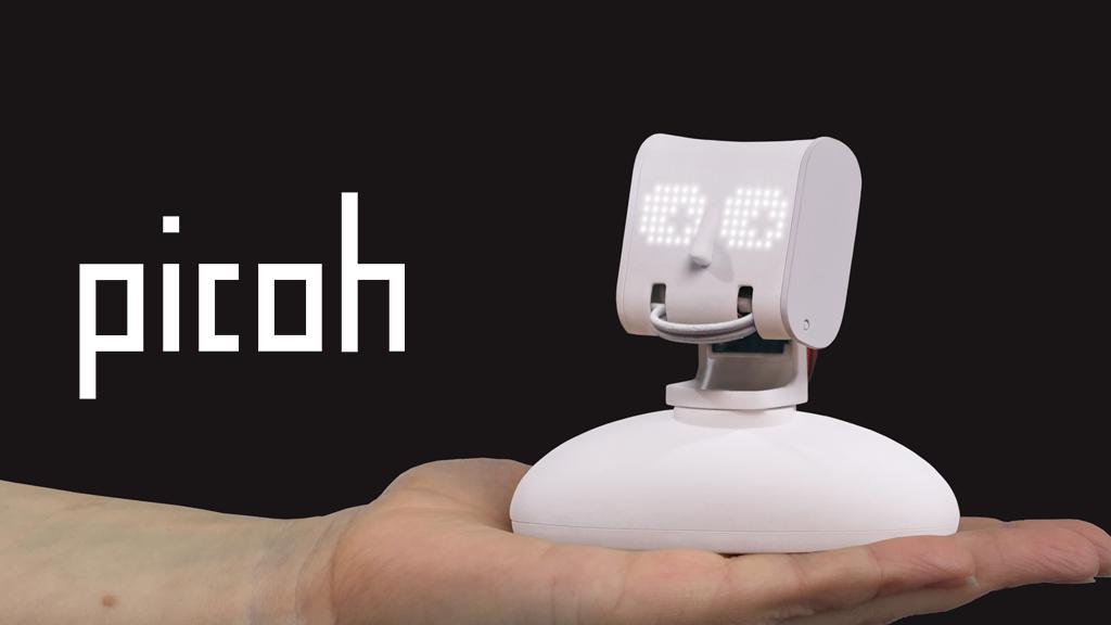 Picoh: An expressive little robot head. project video thumbnail