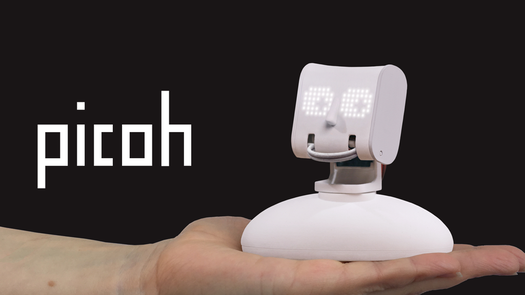 Picoh: An expressive little robot head. project video thumbnail