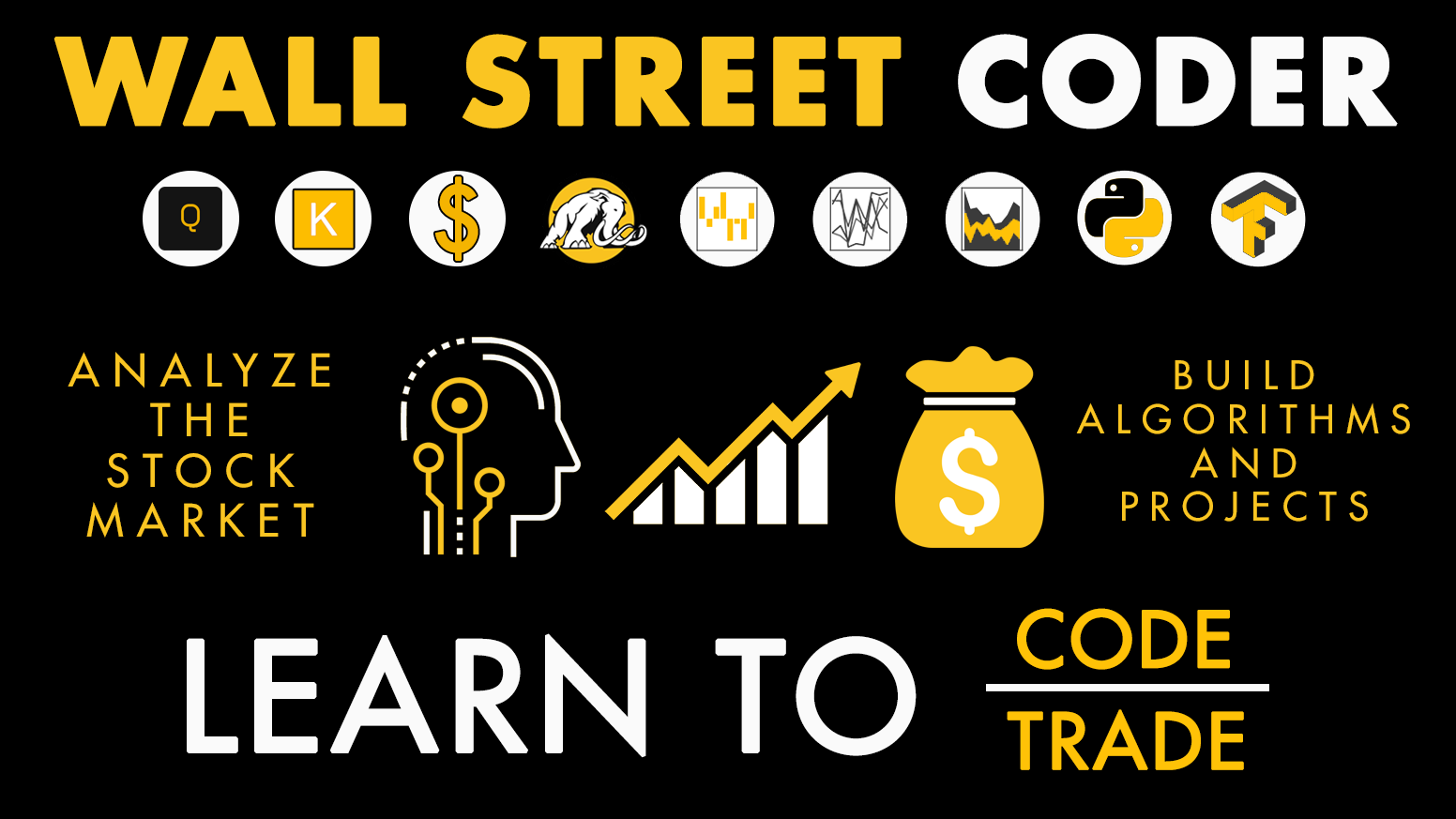 Learn complete Python trading and coding from scratch. Become an expert in data analytics and real-world financial analysis.