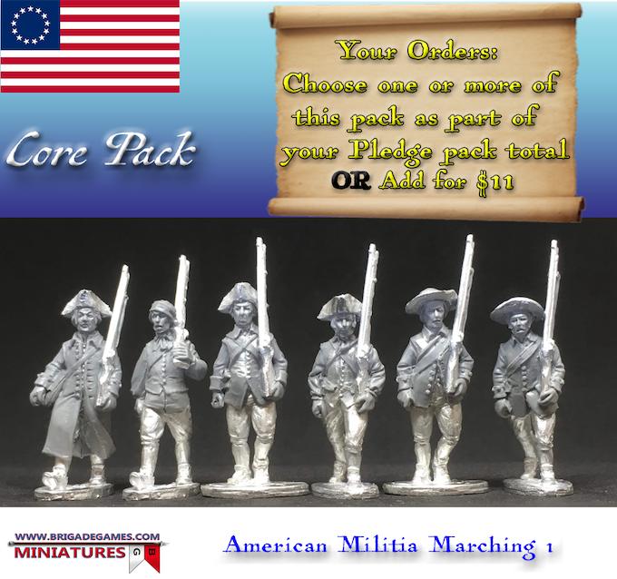 American Militia Marching 1