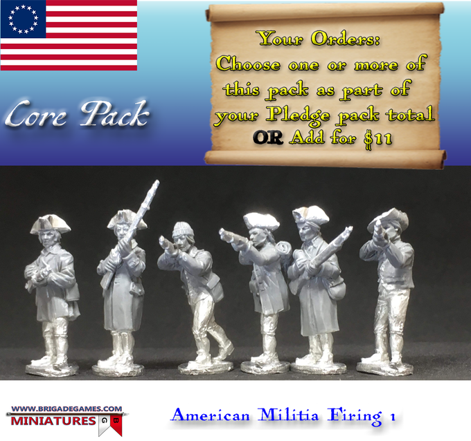 American Militia Firing I