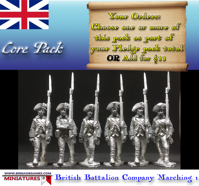 British Battalion Company Marching 1