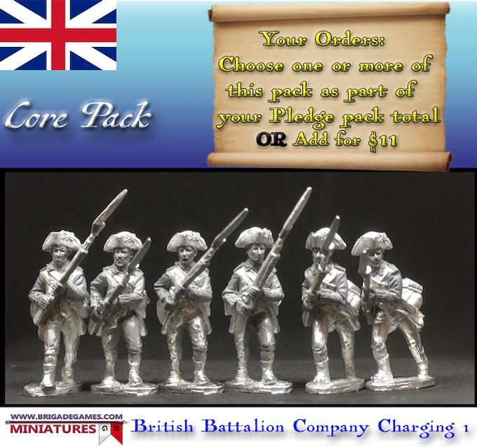 British Battalion Company Charging 1