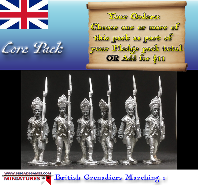 British Grenadiers Marching 1