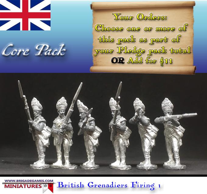 British Grenadiers Firing 1