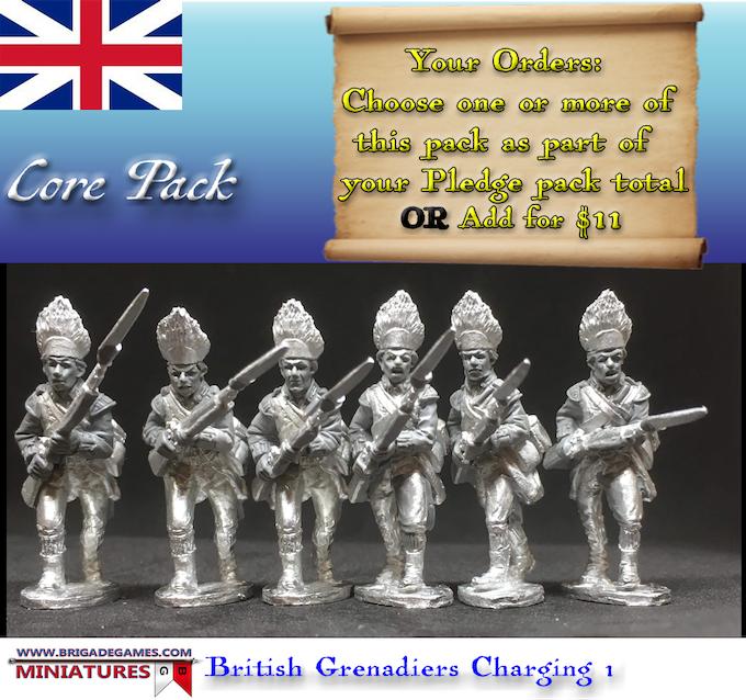 British Grenadiers Charging 1