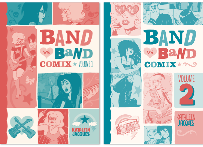 Covers of both volumes