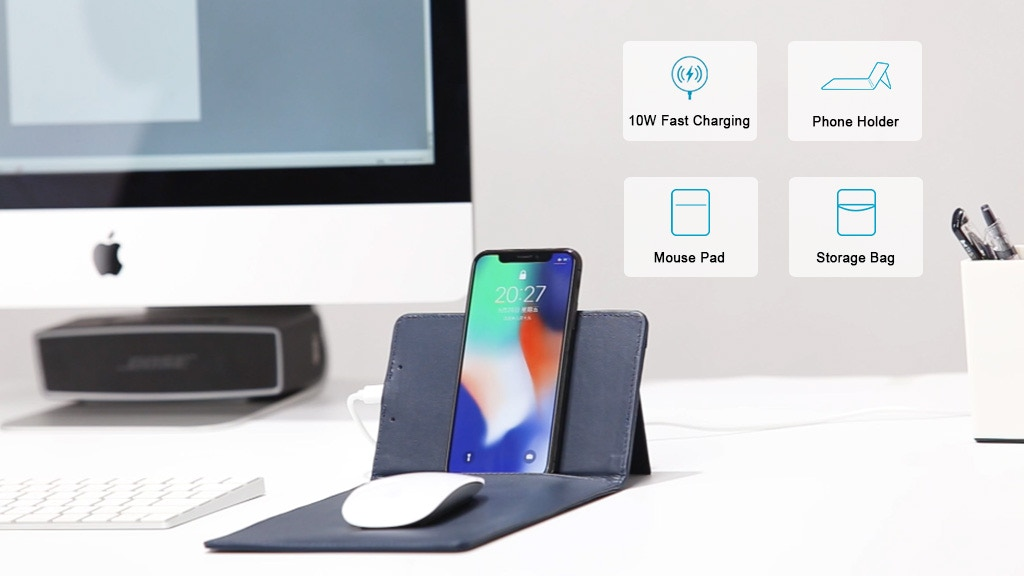 M-Pad: The Most Advanced 4 in 1 Wireless Charging BagPad