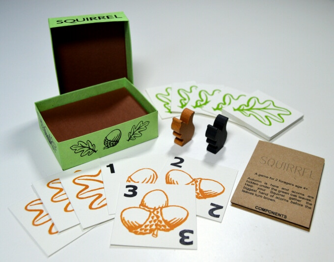 Squirrel board game