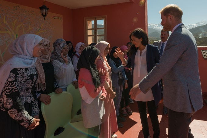 Meghan and Harry recently visited the boarding houses raising the awareness of the need to encourage girls to pursue an education no matter what the obstacles.