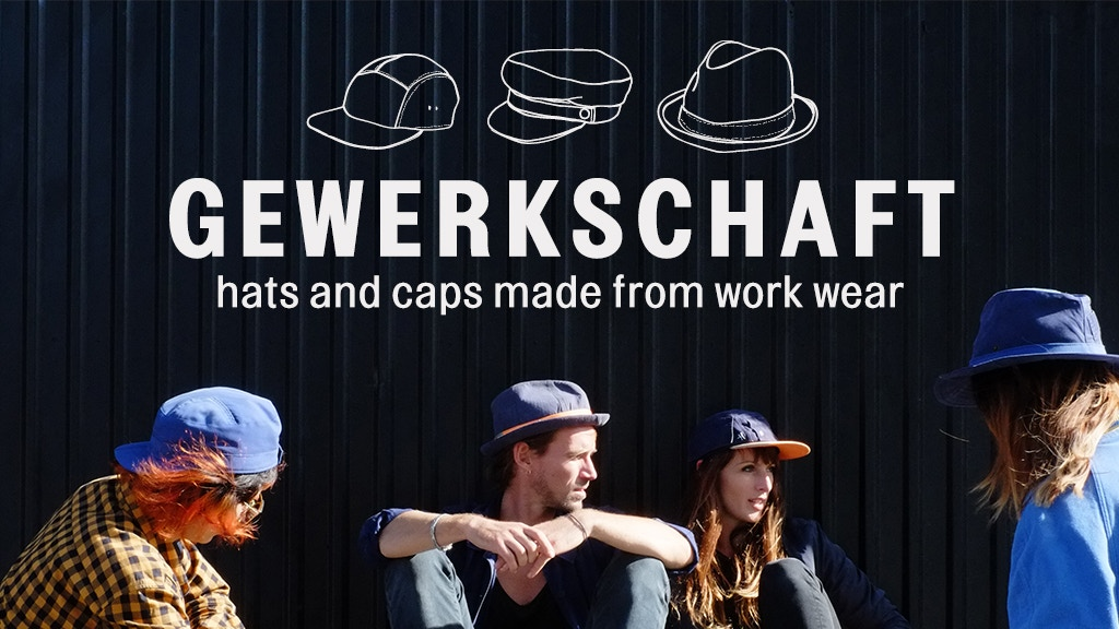 GEWERKSCHAFT - Hats & Caps made from workwear project video thumbnail