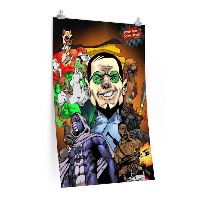 HTDB Comics Characters 11x17 Poster