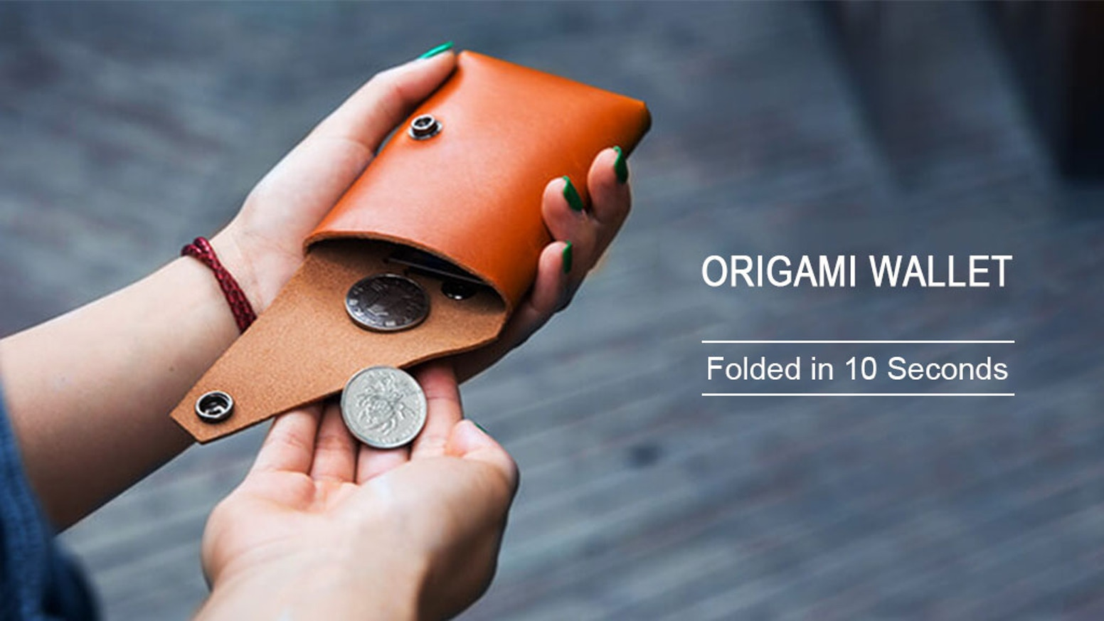 f1fa6fcae858 SLwallet  Fold your own wallet in 10 seconds by SLwallet — Kickstarter
