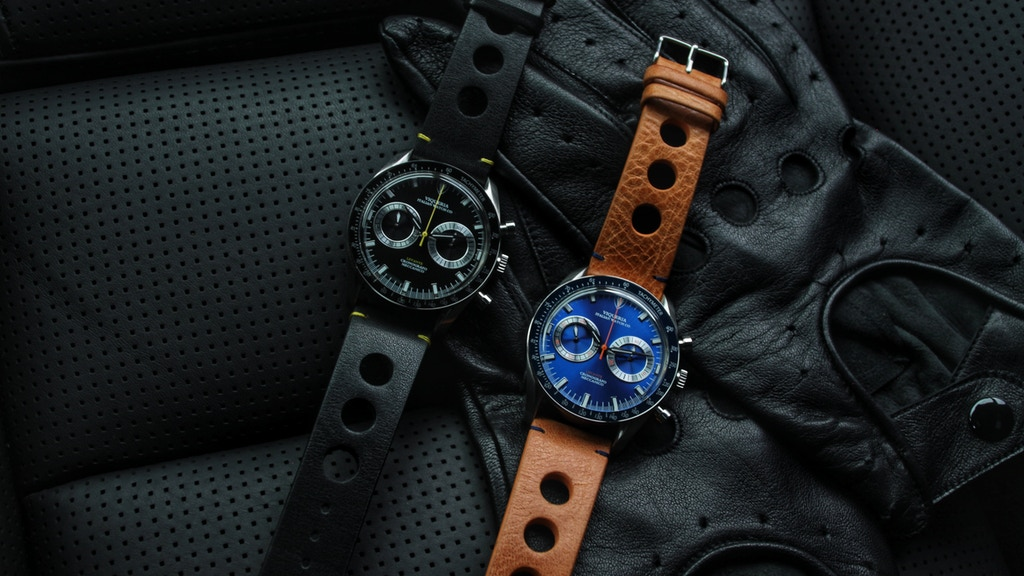 Viqueria Levante: Hand-wound Racing Watch Assembled in Italy