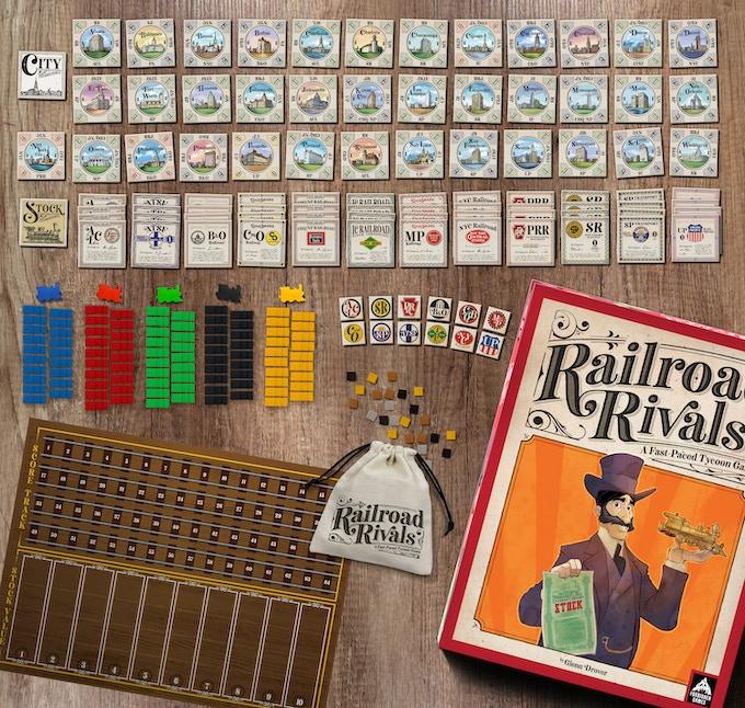 Railroad Rivals - Robber Baron