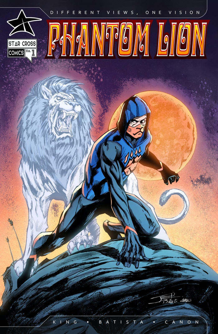 Phantom Lion Issue #1 Comic Book (1 of 4-Issue Miniseries
