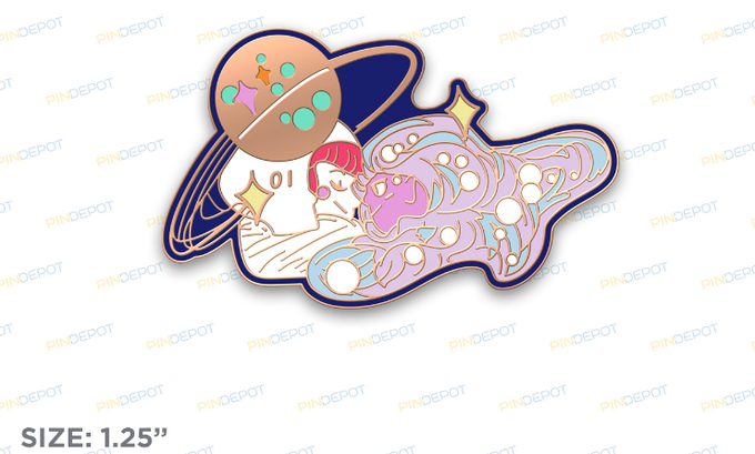 galaxy lovers pin proof !