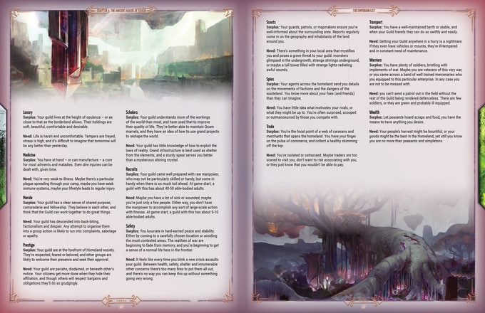 An example page spread from the book.