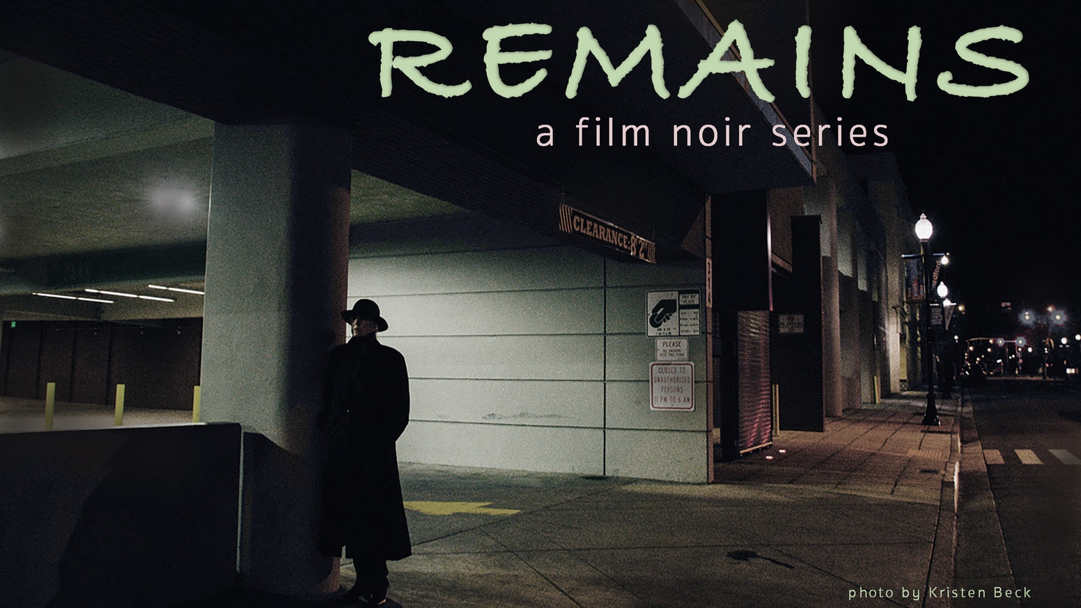REMAINS the film noir series by Ray Nomoto Robison » We said