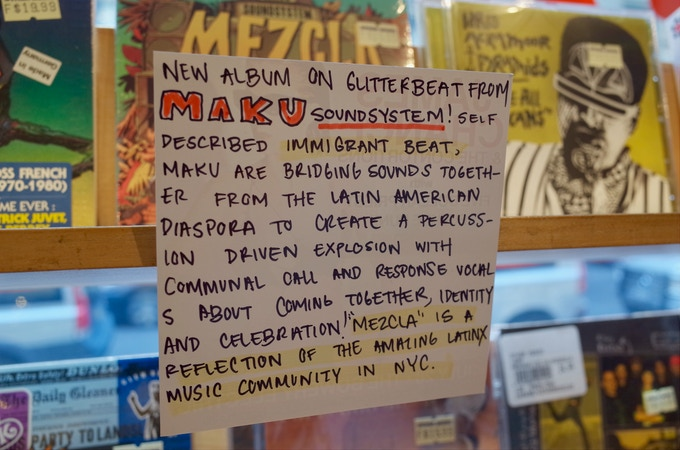 $35 - a download of the film & a one-of-a-kind handwritten record review card