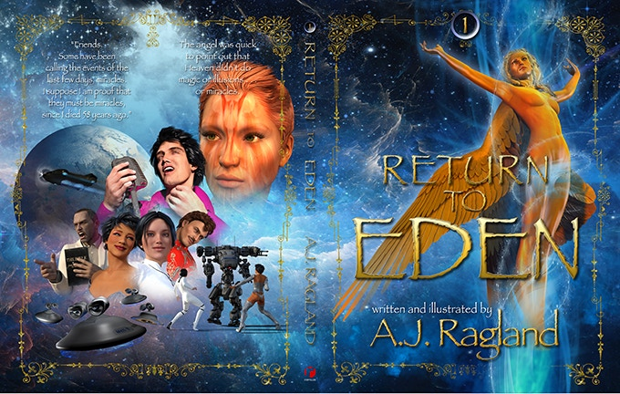 Return To Eden volume 1 cover