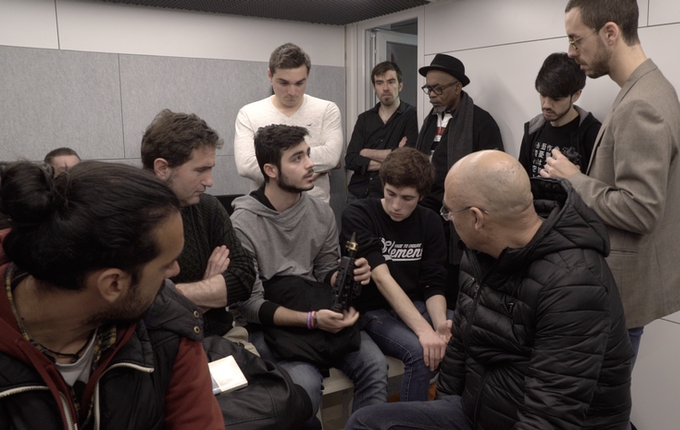 Beta testers giving feedback before launching de campaign