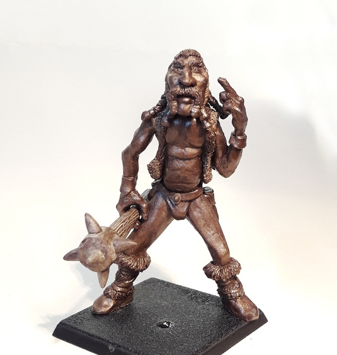 Assembled Giant 68mm Tall (requires GW style or Resin base)