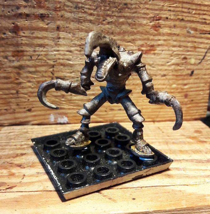 Hook Terror Sculpt. (Requires GW or resin base)