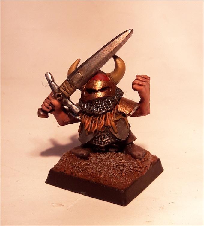 Gimbrinn Finerhelm my homage to a certain Lichemaster Dwarf Mine Boss