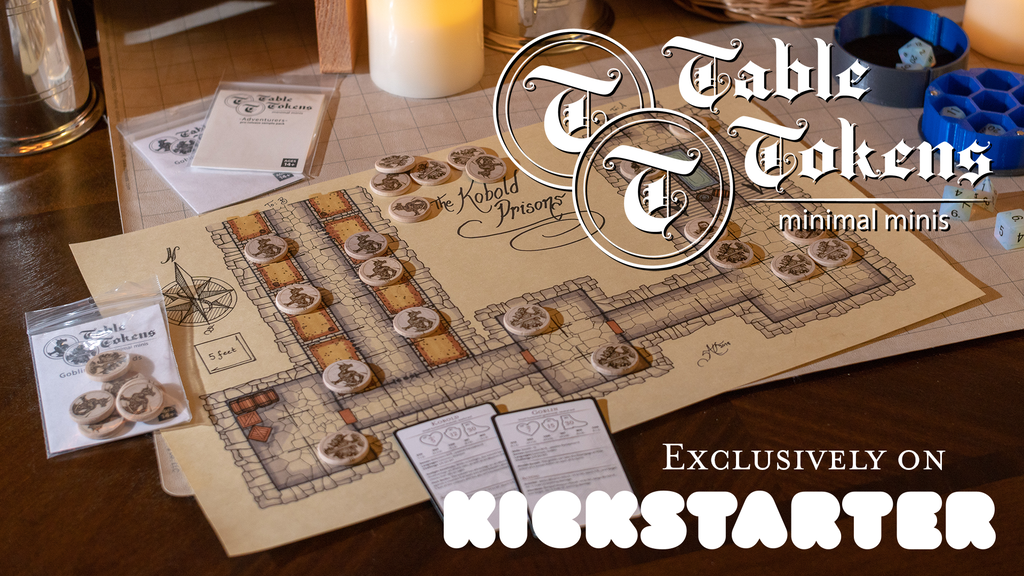 Table Tokens: Minimal Minis. We're back! project video thumbnail