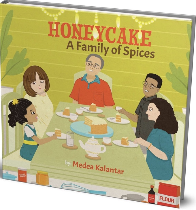 Cover of Honeycake A Family of Spices