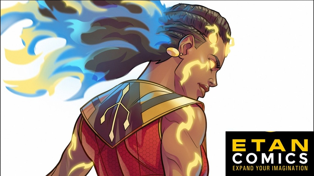HAWI #1: Historical Fantasy featuring an African Superhero project video thumbnail