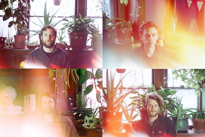 Drew 'aka' Logistico,Graham 'aka' gp, Mike 'aka' Miglo, Adam 'aka' Wayne -- photos: Maren Celest